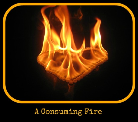 a consuming fire graphic