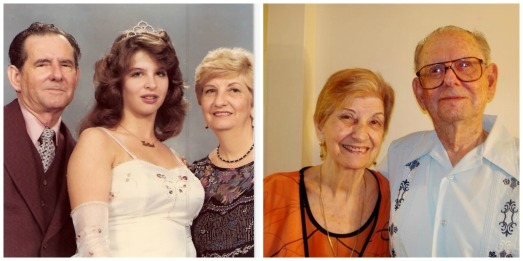 abuelos collage