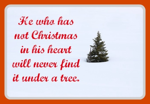 christmas quote graphic